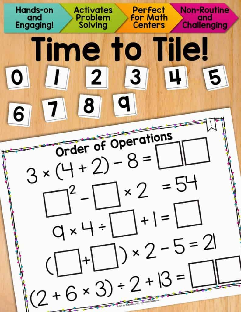 Fun with Order of Operations • Teacher Thrive