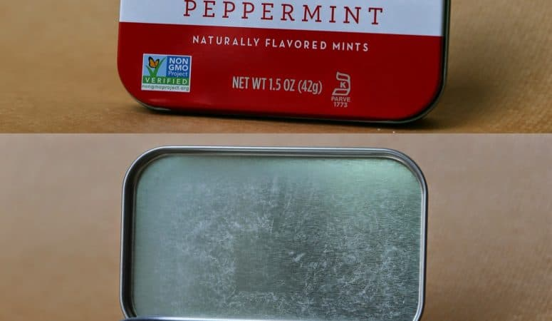 3D Mint Tin Cell Model