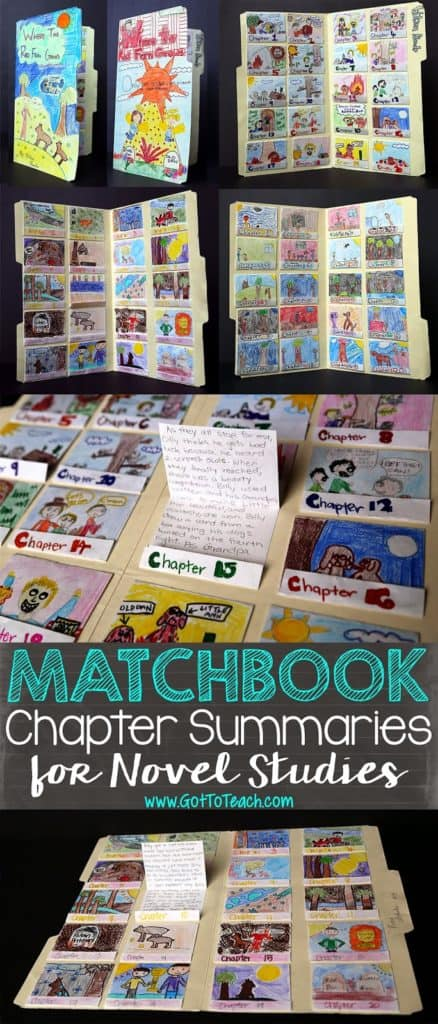Matchbook Chapter Summaries for Novel Studies