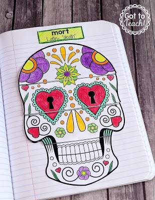 Halloween Latin Root Word Activity