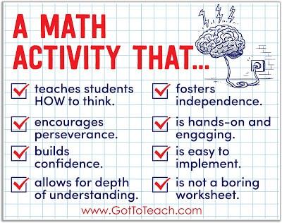 Math Tiles: My Favorite Math Activity!