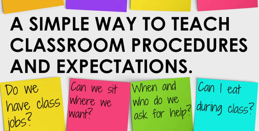"""You will love this simple way to """"sneak in"""" direct instruction of classroom procedures and expectations."""