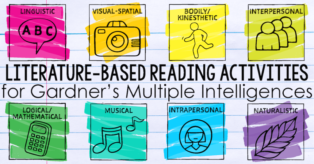 Reading Activities for Gardner's Multiple Intelligences