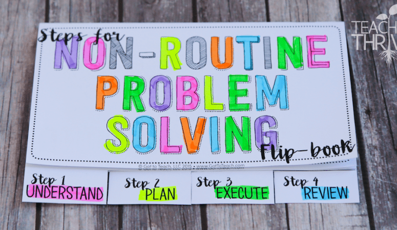 Non-Routine Problem Solving in Math