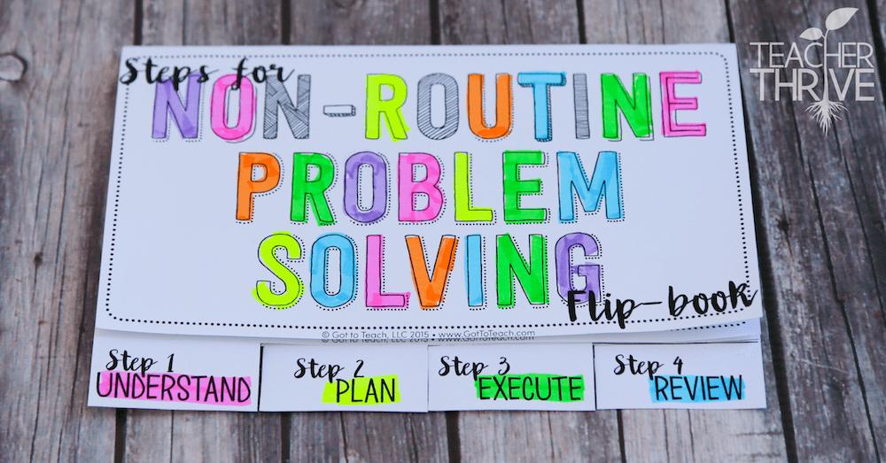 Math Problem Solving, non-routine math problems