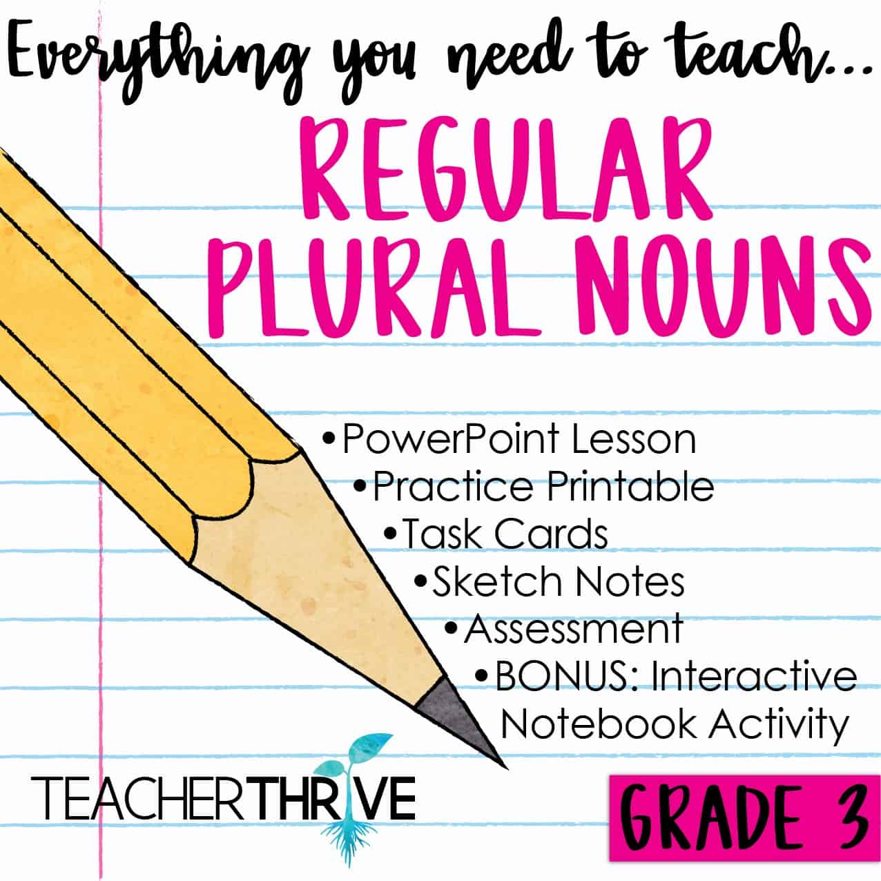 Regular Plural Nouns