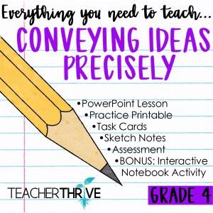 Convey Ideas Precisely