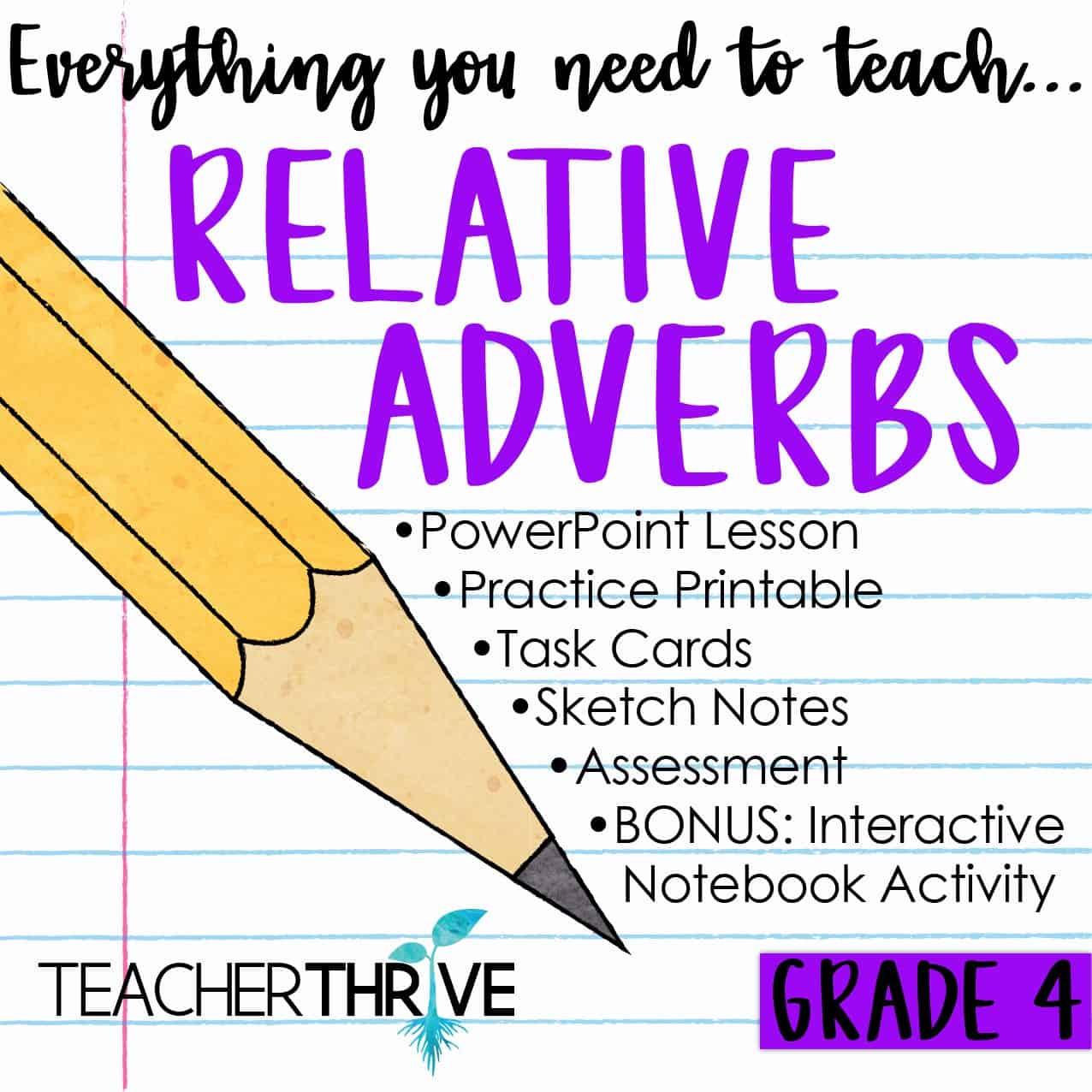 Relative Adverbs