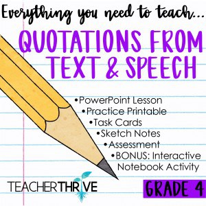 Quotations from Text & Speech