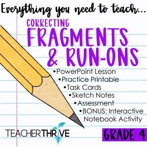 Correcting Fragments and Run-ons