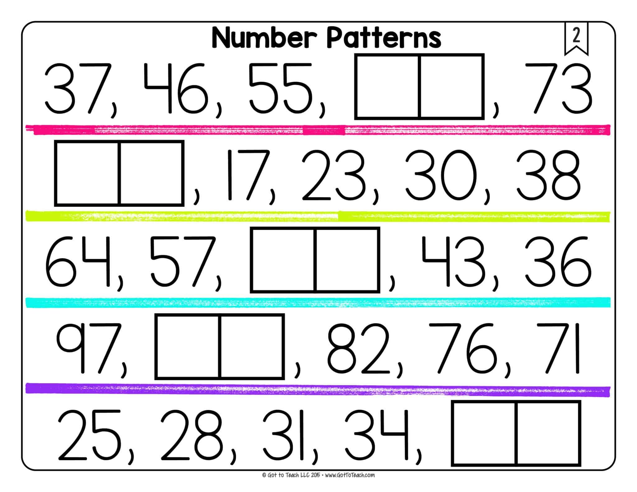 Analyze Number Patterns