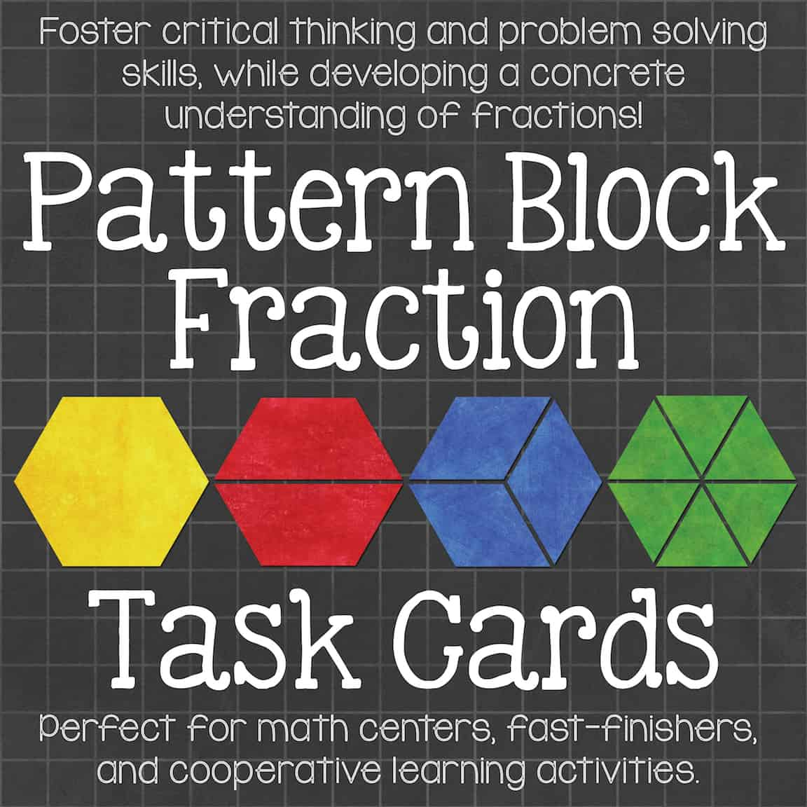 fractions and pattern blocks