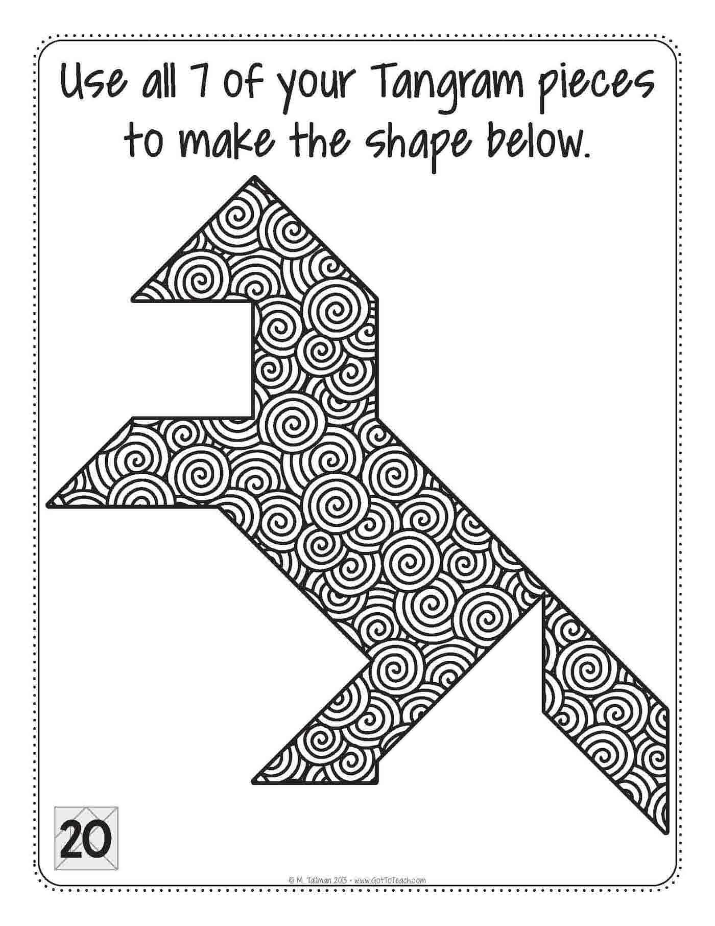 i heart tangrams math centers • teacher thrive
