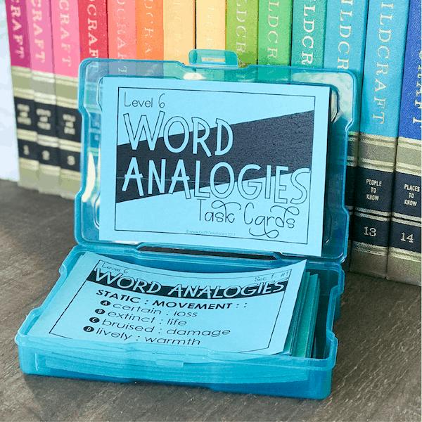 word analogies
