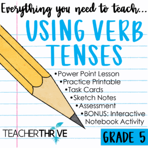 using verb tenses