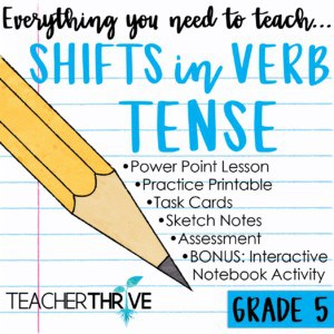 Shifts in Verb Tense