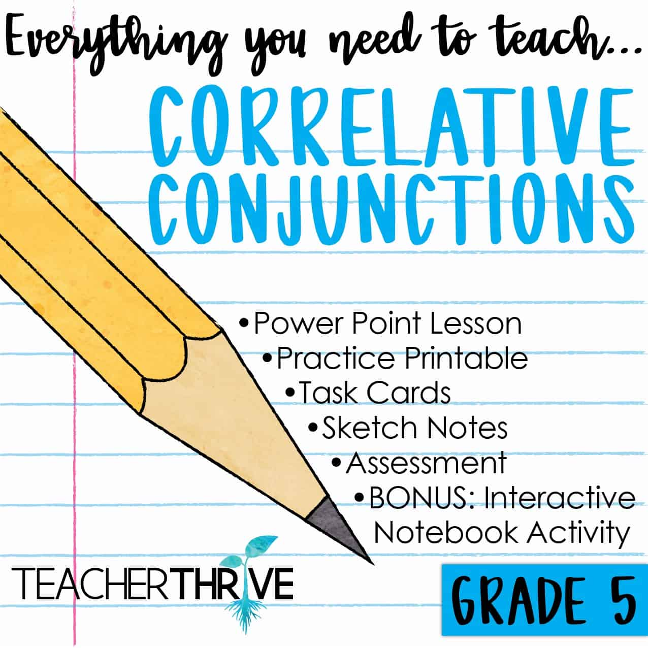 third grade coordinating conjunctions