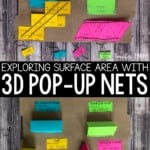 3D pop up nets for surface