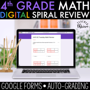 4th grade digital spiral review