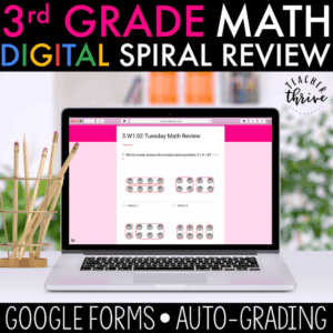 3rd grade digital spiral review